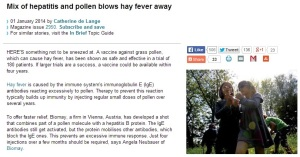 Westminster, CO Pediatrics: New Treatment for Hay Fever on the Horizon
