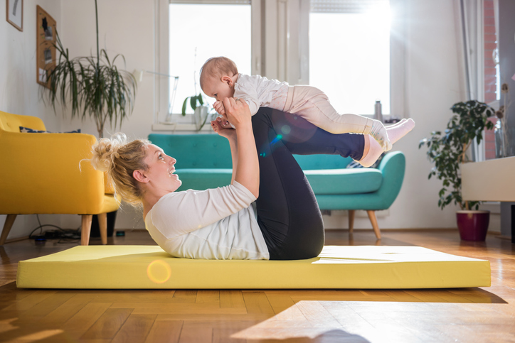Getting Back in Shape: Fun Exercises To Do with Your Baby